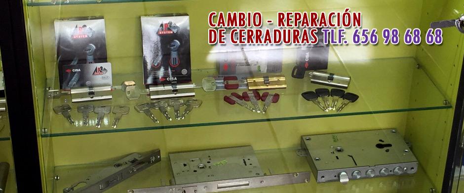 reparacion cerraduras Madrid